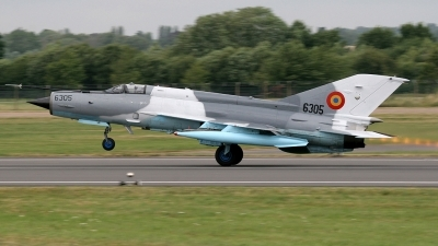 Photo ID 3453 by John Higgins. Romania Air Force Mikoyan Gurevich MiG 21MF 75 Lancer C, 6305