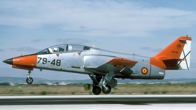 Photo ID 29859 by Joop de Groot. Spain Air Force CASA C 101EB Aviojet, E 25 48