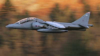 Photo ID 29889 by John Higgins. UK Air Force British Aerospace Harrier T10, ZH657