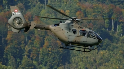 Photo ID 30074 by E de Wissel. Switzerland Air Force Eurocopter TH05 EC 635P2, T 354