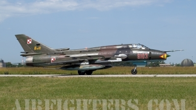 Photo ID 3516 by Jörg Pfeifer. Poland Air Force Sukhoi Su 22M4 Fitter K, 8103