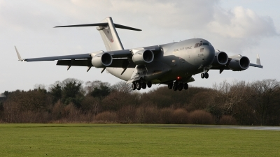 Photo ID 30439 by Karl Drage. UK Air Force Boeing C 17A Globemaster III, ZZ176
