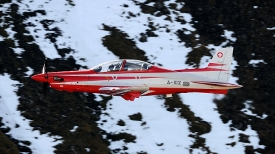 Photo ID 30570 by Joop de Groot. Switzerland Air Force Pilatus PC 21, A 102