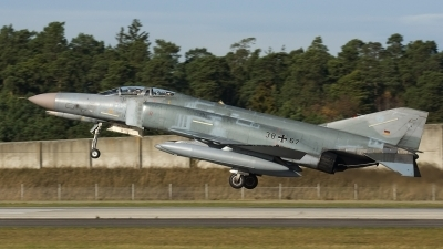 Photo ID 30640 by Jörg Pfeifer. Germany Air Force McDonnell Douglas F 4F Phantom II, 38 67