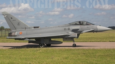 Photo ID 3615 by James Shelbourn. Spain Air Force Eurofighter C 16 Typhoon EF 2000S, C 16 23