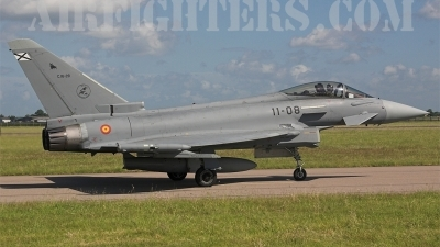 Photo ID 3616 by James Shelbourn. Spain Air Force Eurofighter C 16 Typhoon EF 2000S, C 16 28