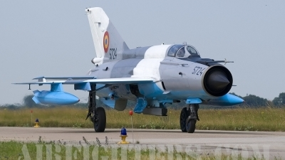 Photo ID 3620 by Jörg Pfeifer. Romania Air Force Mikoyan Gurevich MiG 21MF 75 Lancer C, 5724