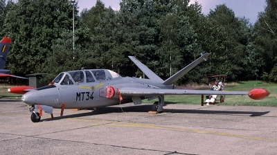 Photo ID 31039 by Lieuwe Hofstra. Belgium Air Force Fouga CM 170R Magister, MT 34