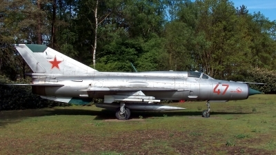 Photo ID 31106 by Bart Hoekstra. Russia Air Force Mikoyan Gurevich MiG 21PFM, 47 RED