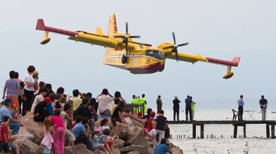 Photo ID 31103 by Frank Steinkohl. Italy Dipartimento Protezione Civile Canadair CL 415, I DPCH