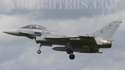 Photo ID 3632 by James Shelbourn. Spain Air Force Eurofighter C 16 Typhoon EF 2000S, C 16 28