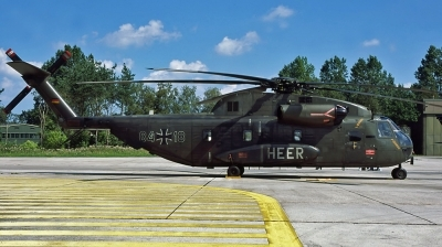 Photo ID 31174 by Lieuwe Hofstra. Germany Army Sikorsky CH 53G Super Stallion, 84 18