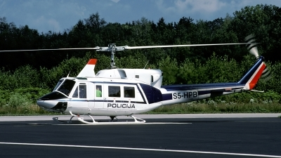 Photo ID 31390 by Joop de Groot. Slovenia Police Bell 212 Twin Two Twelve, S5 HPB