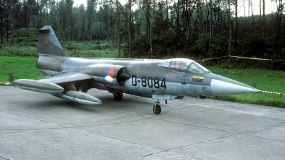 Photo ID 31377 by Joop de Groot. Netherlands Air Force Lockheed F 104G Starfighter, D 8084