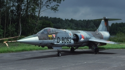 Photo ID 31586 by Lieuwe Hofstra. Netherlands Air Force Lockheed F 104G Starfighter, D 8062