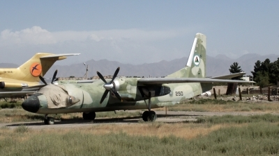 Photo ID 31781 by D. A. Geerts. Afghanistan Air Force Antonov An 26, 250