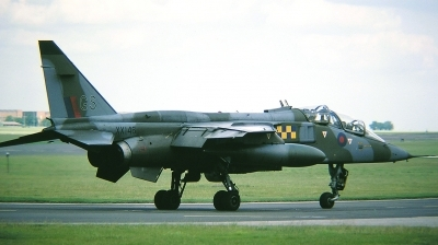 Photo ID 31887 by Arie van Groen. UK Air Force Sepecat Jaguar T2A, XX146