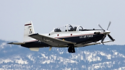 Photo ID 31899 by Nathan Havercroft. USA Air Force Raytheon T 6A Texan II, 06 3855