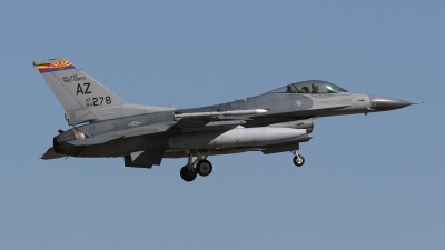Photo ID 32031 by Karl Drage. USA Air Force General Dynamics F 16C Fighting Falcon, 84 1278