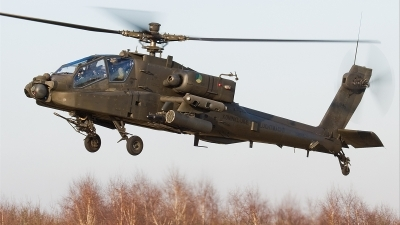 Photo ID 32026 by Alex van Noye. Netherlands Air Force Boeing AH 64D Apache, Q 18