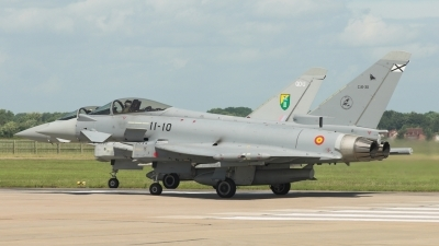 Photo ID 3777 by Martin Patch. Spain Air Force Eurofighter C 16 Typhoon EF 2000, C 16 30