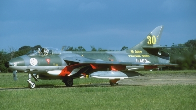 Photo ID 32490 by Joop de Groot. Switzerland Air Force Hawker Hunter F58, G BWFR