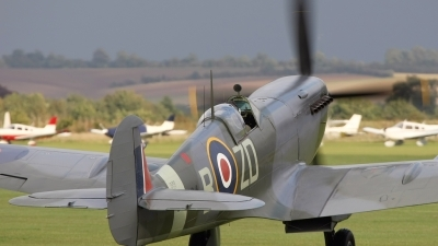 Photo ID 32704 by Zdenek Ondracek. Private Old Flying Machine Company Supermarine 361 Spitfire LF9B, G ASJV