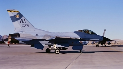 Photo ID 33184 by Hans den Uyl. USA Air Force General Dynamics F 16C Fighting Falcon, 86 0271