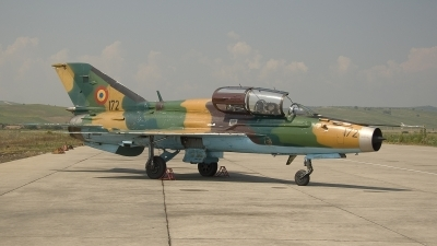 Photo ID 3895 by Dirk Jan de Ridder. Romania Air Force Mikoyan Gurevich MiG 21UM Lancer B, 172