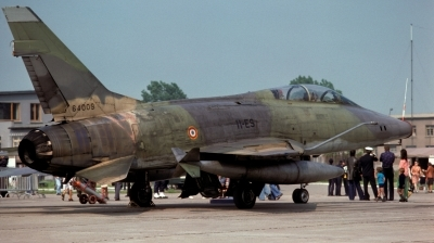 Photo ID 33195 by Alex Staruszkiewicz. France Air Force North American F 100F Super Sabre, 56 4009
