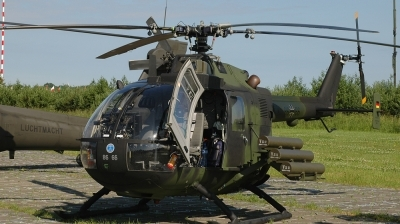 Photo ID 33238 by Lieuwe Hofstra. Germany Army MBB Bo 105P PAH 1, 86 66