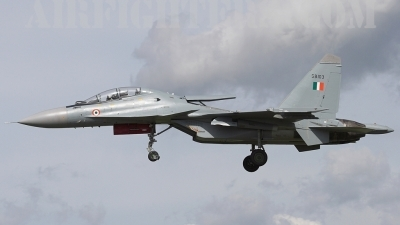 Photo ID 3924 by James Shelbourn. India Air Force Sukhoi Su 30MKI Flanker, SB103