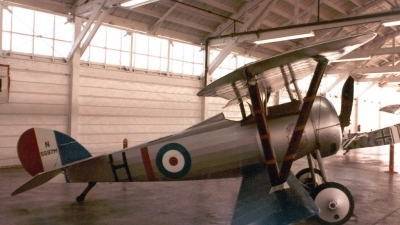 Photo ID 3958 by Ted Miley. UK Air Force Nieuport 27 Replica, N5597M