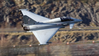Photo ID 34034 by Scott Rathbone. UK Air Force Eurofighter EF 2000 Typhoon T1, ZJ813