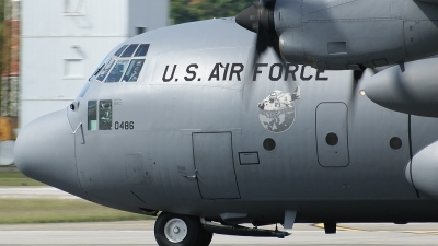 Photo ID 34546 by Hector Rivera - Puerto Rico Spotter. USA Air Force Lockheed C 130H Hercules L 382, 83 0486