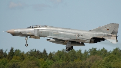 Photo ID 34518 by Klemens Hoevel. Germany Air Force McDonnell Douglas F 4F Phantom II, 38 75