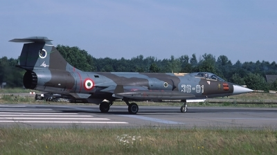 Photo ID 34640 by Lieuwe Hofstra. Italy Air Force Lockheed F 104S ASA M Starfighter, MM6820