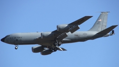 Photo ID 4128 by Jaysen F. Snow - Midwest Tail Chasers. USA Air Force Boeing KC 135R Stratotanker 717 148, 64 14837