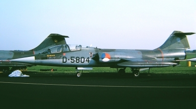 Photo ID 34731 by Arie van Groen. Netherlands Air Force Lockheed TF 104G Starfighter, D 5804