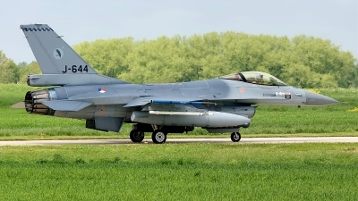 Photo ID 34705 by Rainer Mueller. Netherlands Air Force General Dynamics F 16AM Fighting Falcon, J 644