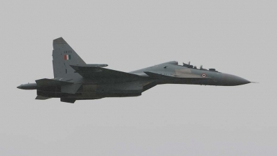Photo ID 4168 by Paul Tiller. India Air Force Sukhoi Su 30MKI Flanker, SB103