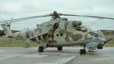 Photo ID 34980 by Rainer Mueller. Russia Air Force Mil Mi 24V, 03 BLUE
