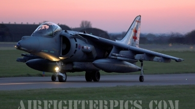 Photo ID 419 by Karl Drage. UK Air Force British Aerospace Harrier GR9, ZG478