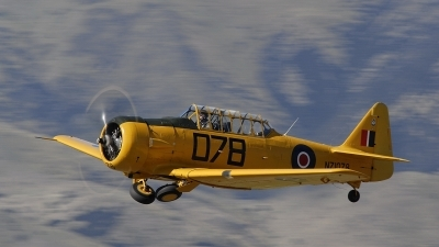 Photo ID 35121 by rinze de vries. Private Private North American AT 6D Harvard Mk3, ZK ENG