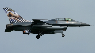 Photo ID 35180 by Tim Van den Boer. Belgium Air Force General Dynamics F 16BM Fighting Falcon, FB 18