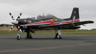 Photo ID 35213 by John Higgins. UK Air Force Short Tucano T1, ZF338
