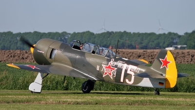 Photo ID 35467 by Johannes Berger. Private Private Yakovlev Yak 11 C 11, D FYAK