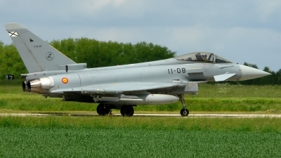 Photo ID 35590 by Bart Hoekstra. Spain Air Force Eurofighter C 16 Typhoon EF 2000, C16 28
