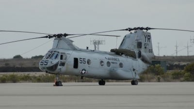 Photo ID 35681 by Vincent de Wissel. USA Marines Boeing Vertol CH 46E Sea Knight 107 II, 152574
