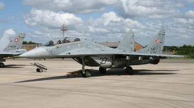 Photo ID 35723 by markus altmann. Hungary Air Force Mikoyan Gurevich MiG 29UB 9 51, 27